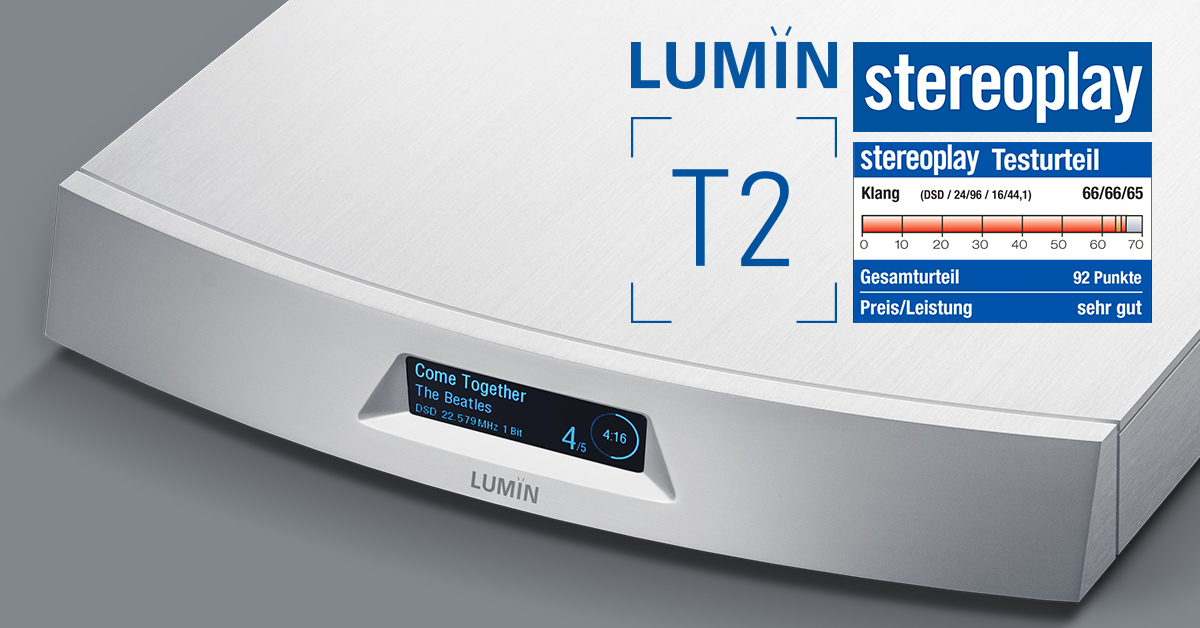 Stereoplay LUMIN T2 Review