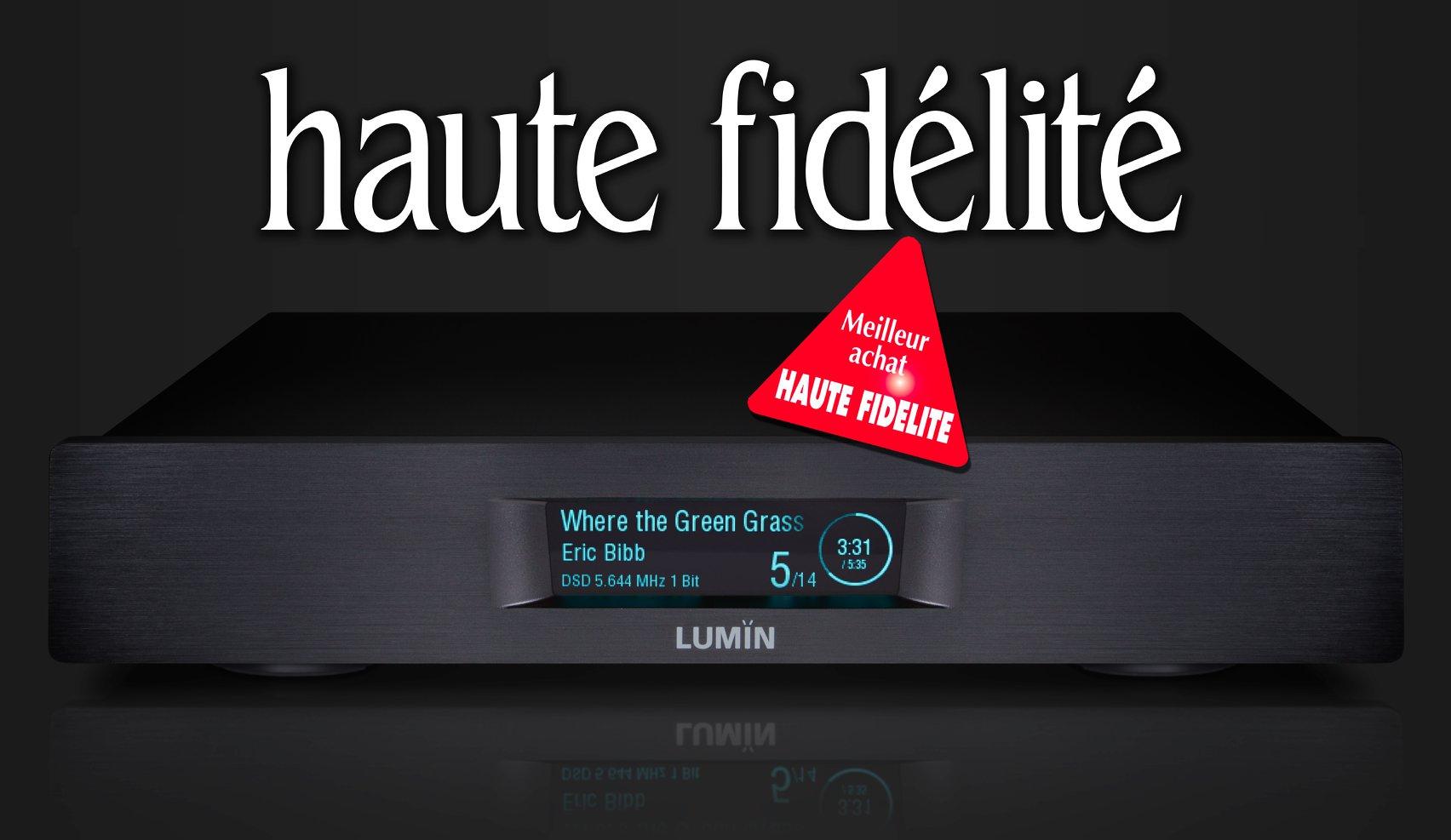 Haute Fidélité LUMIN D2 review
