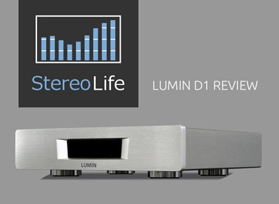 StereoLife Magazine LUMIN D1 review